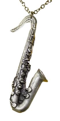 Medaljon Saksofon