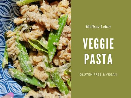 Quick & Easy Veggie Pasta (Gluten Free & Vegan)