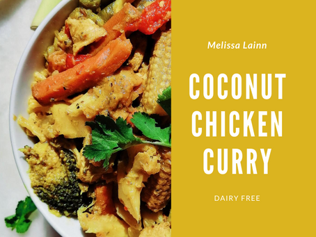 Coconut Chicken Curry (Dairy Free)