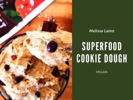 Superfood Cookie Dough (Vegan)