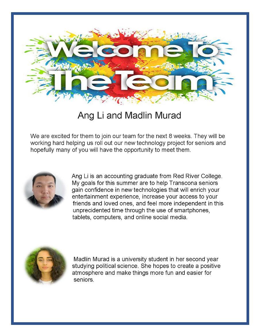 welcome   Green Team members.jpg
