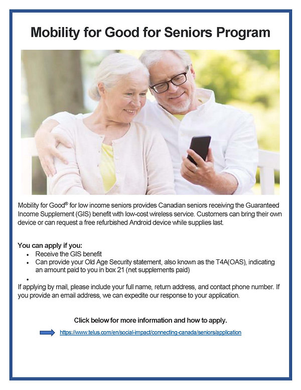 Mobility for Good for Seniors Program.jp