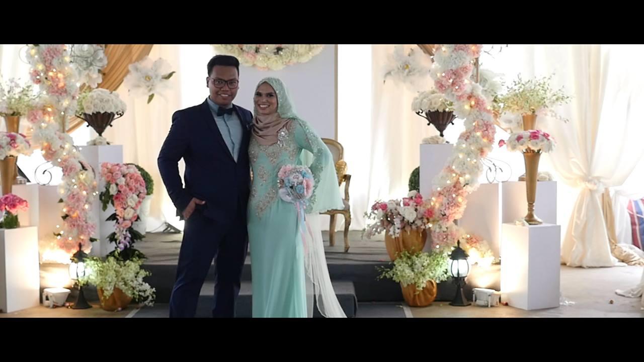 Nasrin & 'Afiqah's Wedding Highlights