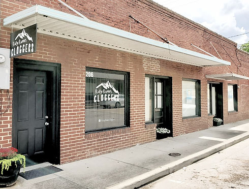 Photo of the RIdge Runner Cloggers dance studio in Harrison, Arkansas.