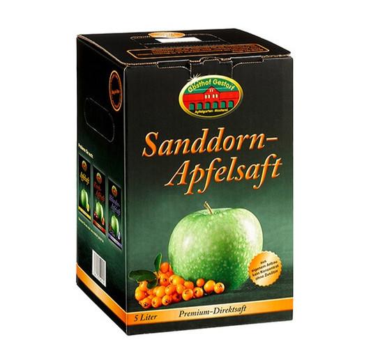 Sanddorn-Apfelsaft