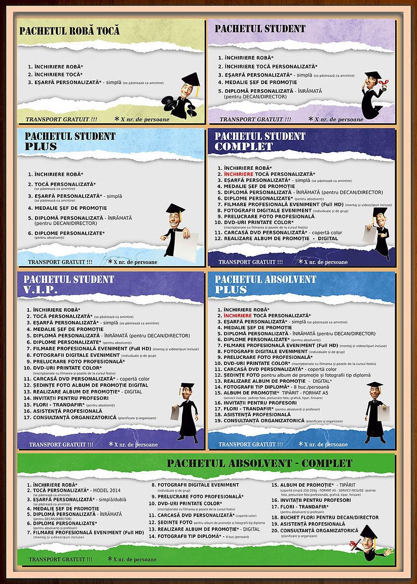 curs festiv, cursuri festive, organizare curs festiv, banchet, festivitate de absolvire, roba, toca, robe