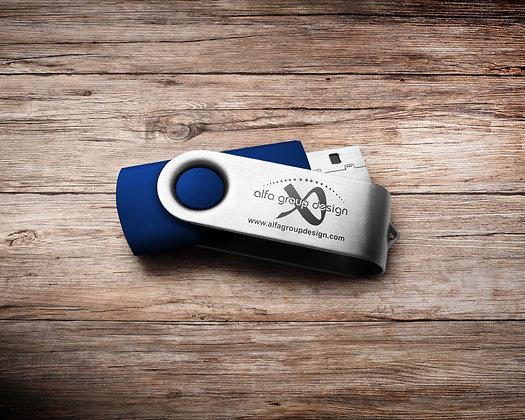 Stick USB cu carcasa metalica