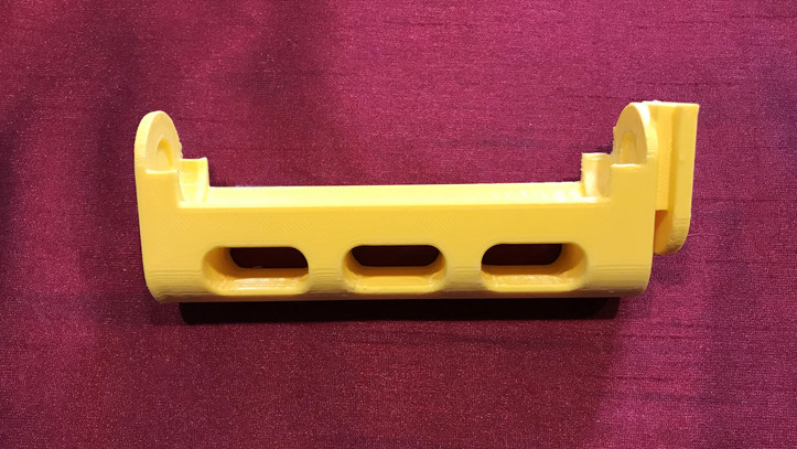 3D Printed roller support.