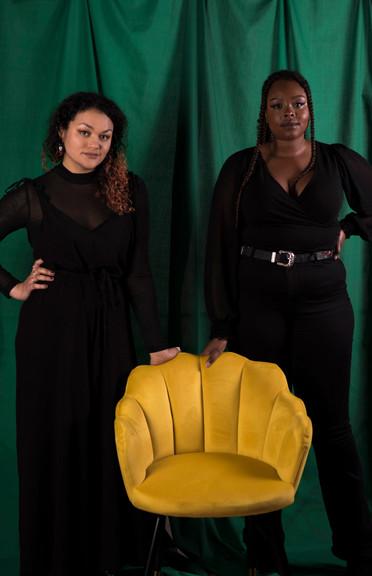 Kwanzaa: Cynthia & Rebecca