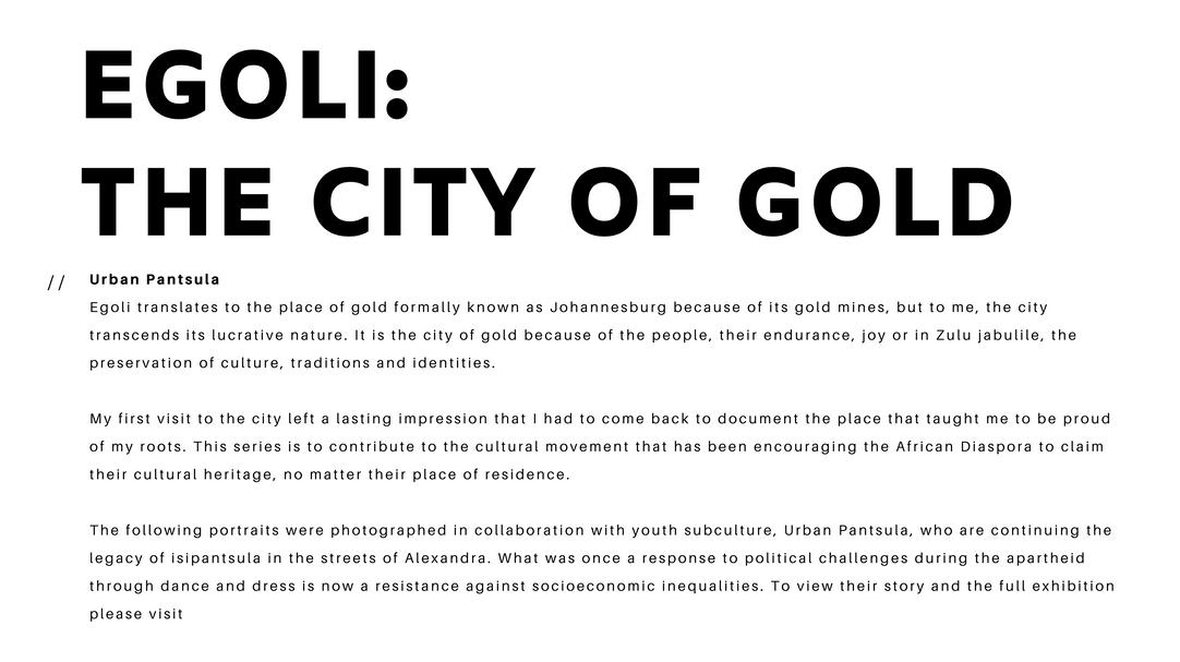 Egoli: The City of Gold