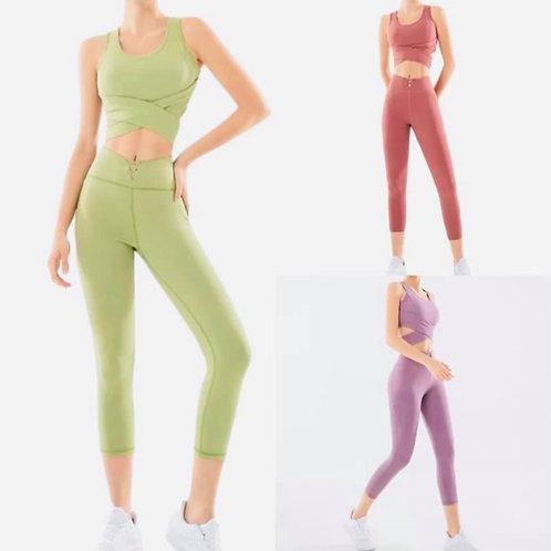 Natural Tone Active Wear Set
