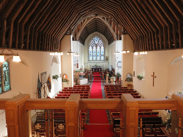 St Marys Church Interior