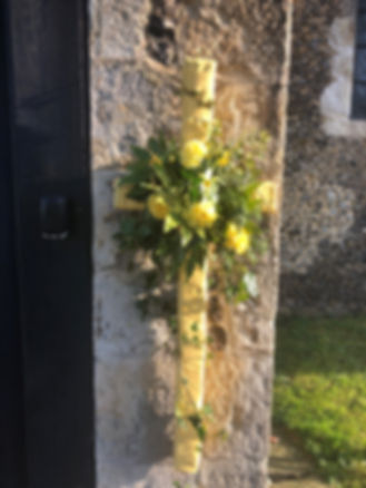 Easter Flowers St Marys Wall.jpg