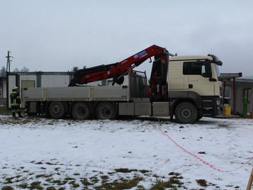 LKW-Bergung in Sooß (T1)