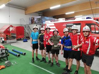 Fotos vom ersten Training