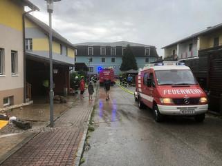 Update: Hochwassereinsatz St. Leonhard/Forst