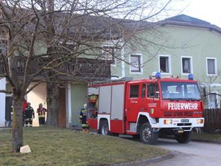 Brandeinsatz in Haag bei Bischofstetten (B3)