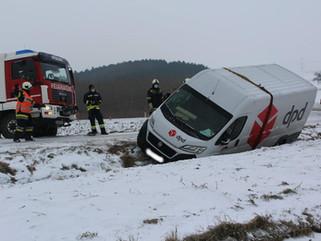 Fahrzeugbergung (T1) in Siegendorf