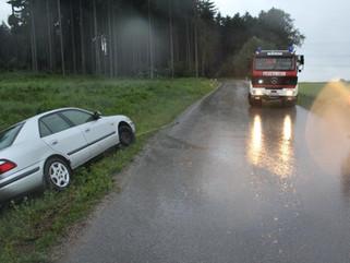 Fahrzeugbergung zwischen Hürm und Thurnhofen