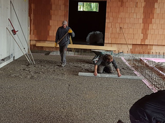 Baufortschritt FF Haus