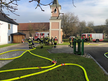Brandeinsatz in Inning