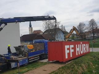 FF Hürm Containerplatz