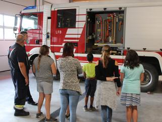 Ferienbetreuung bei der Feuerwehr