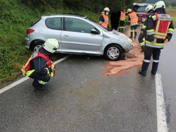 Verkehrsunfall zwischen Hösing und Maxenbach