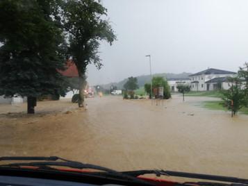 Schwere Unwetter im Hürmer Gemeindegebiet