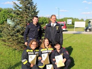 Feuerwehrleistungsabzeichen in Gold