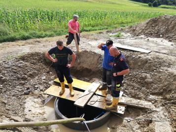 Update: Schwere Unwetter im Hürmer Einsatzgebiet (Sonntag 17 Uhr)