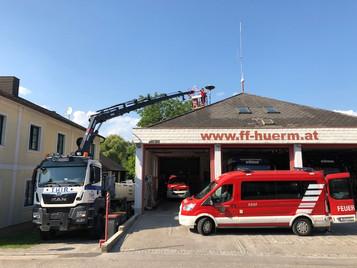 Baufortschritt Feuerwehrhaus