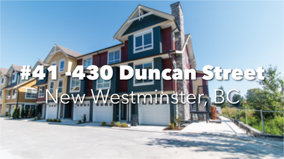 #41 430 Duncan St, New Westminster, BC