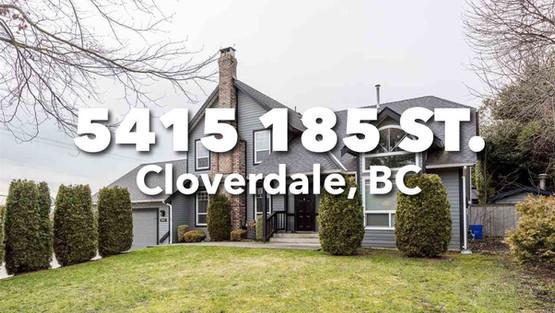 5415 185 St, Cloverdale, BC