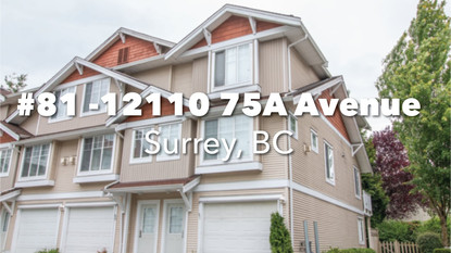 #81 12110 75A Ave, Surrey, BC
