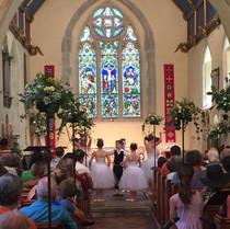 Nikki Bond School of Dance performs at St Peter's Flower Festival