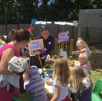 Church Stall at Seaford Primary School Fair