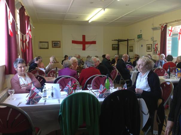 St George's Day Dinner at Bishopstone