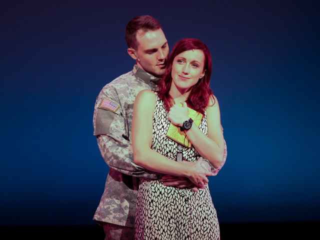 """Deployed is a lively, passionate musical (...) More than just a love story, Deployed searches for meaning in war and destruction.""       Theater Pizzazz, New York"