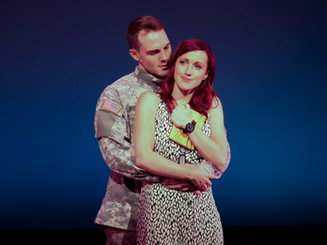 """""""Deployed is a lively, passionate musical (...) More than just a love story, Deployed searches for meaning in war and destruction.""""       Theater Pizzazz, New York"""