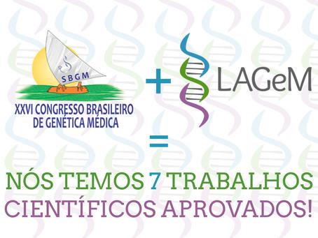 LAGeM Marca Presença no CBGM 2014!