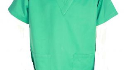 Surgeon Scrubs Top - Light Green