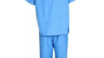 Surgeon Scrubs - Light Blue