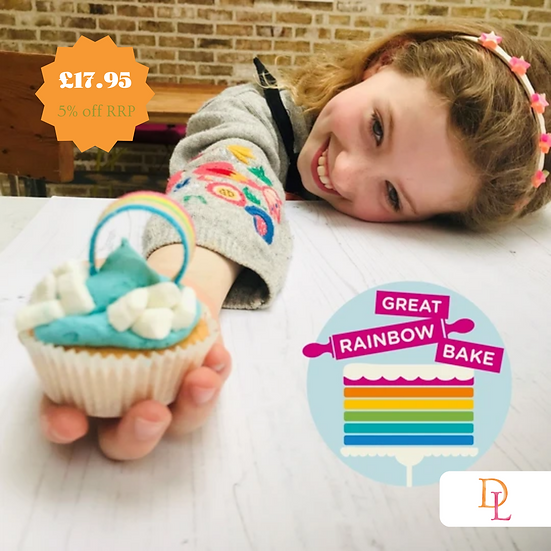 Rainbow Cupcakes Baking and Craft Kit