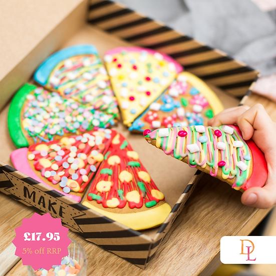 Pizza Biscuit Baking and Craft Kit