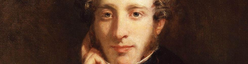 Portrait of Edward George Bulwer-Lytton by Henry William Pickersgill