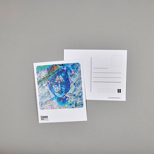 Postcard - Blue Lennon