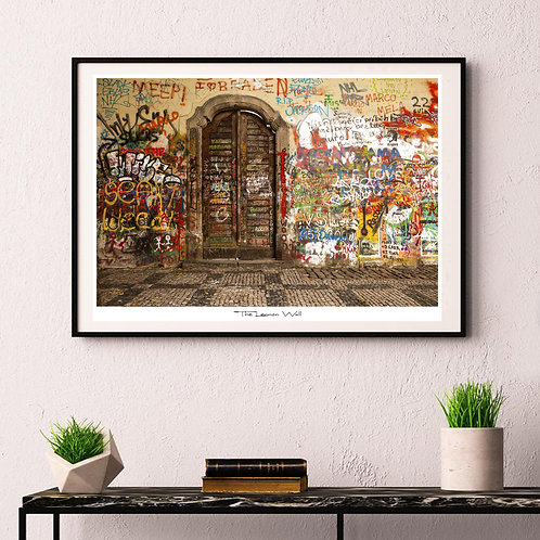Lennon Wall Door - poster