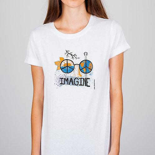 Imagine Glasses- t-shirt