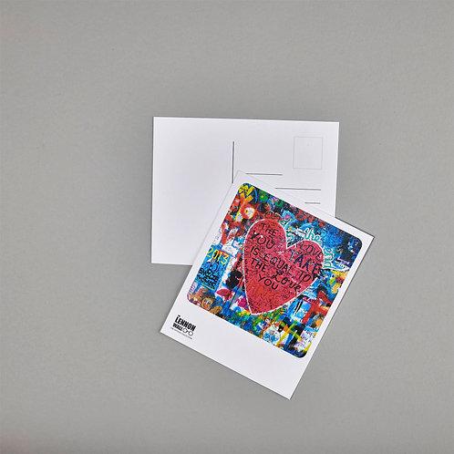 Postcard - The love you make
